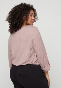 Zizzi - Long sleeved top - rose - 2
