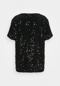 Kaffe - KACOLENE  - Print T-shirt - black - 1