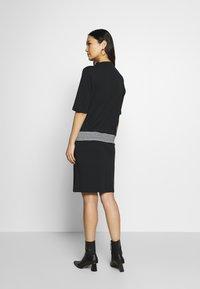 Esprit - RETRO DRESS - Sukienka letnia - black - 2