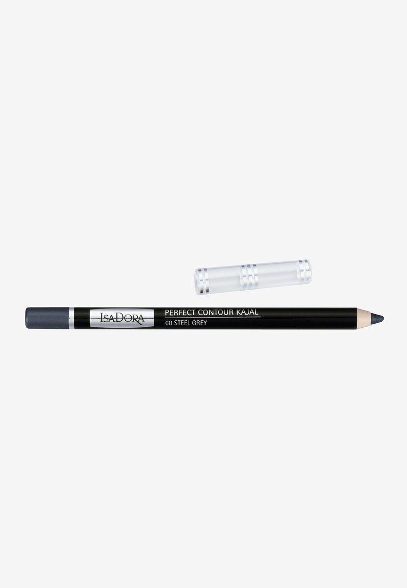 IsaDora - PERFECT CONTOUR KAJAL - Eyeliner - steel grey