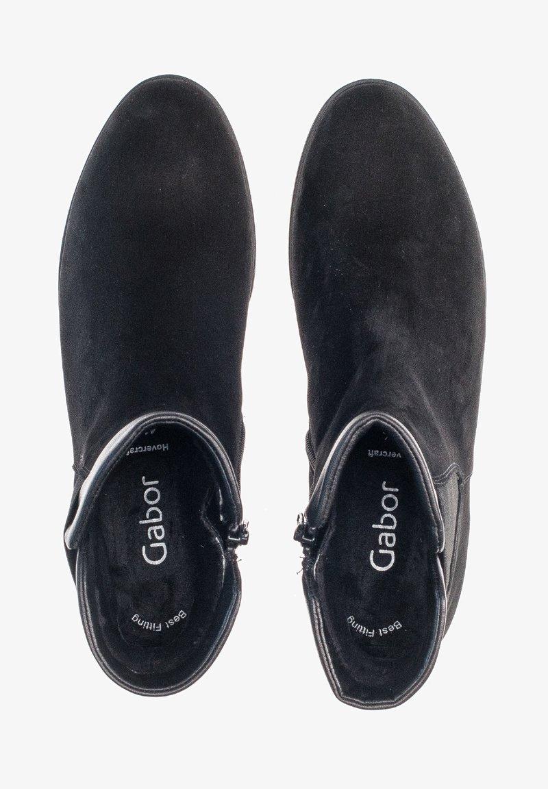 Gabor - CHELSEA - Ankle boots - schwarz