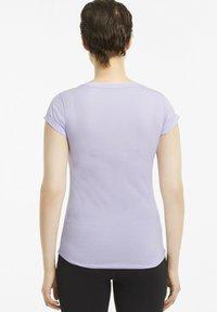 Puma - T-shirt de sport - light lavender heather - 2
