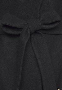 Ivko - BOILED COAT WITH EMBROIDE - Frakker / klassisk frakker - black - 3