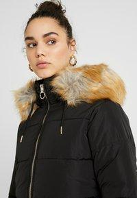 Topshop - JACK HOOD PUFFER - Winter jacket - black - 5