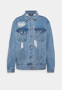Missguided - DISTRESSED BOYFRIEND JACKET - Denim jacket - blue - 3