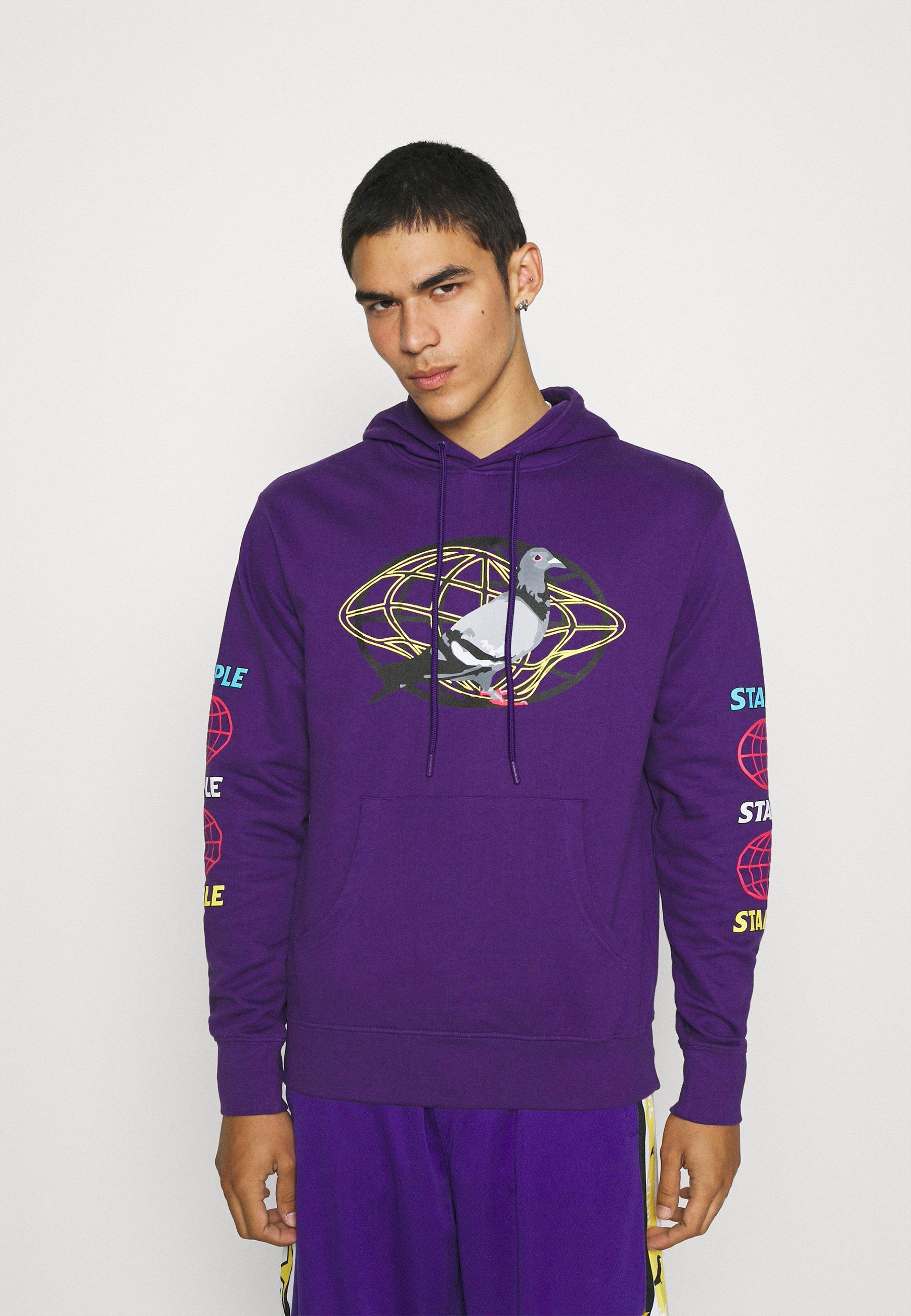 Homme GLOBAL HOODIE - Sweatshirt