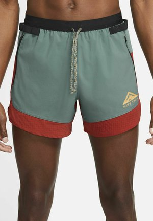 Pantaloncini sportivi - dark cayenne/hasta/solar flare