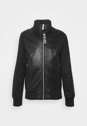 BILLY BOY  - Leather jacket - black