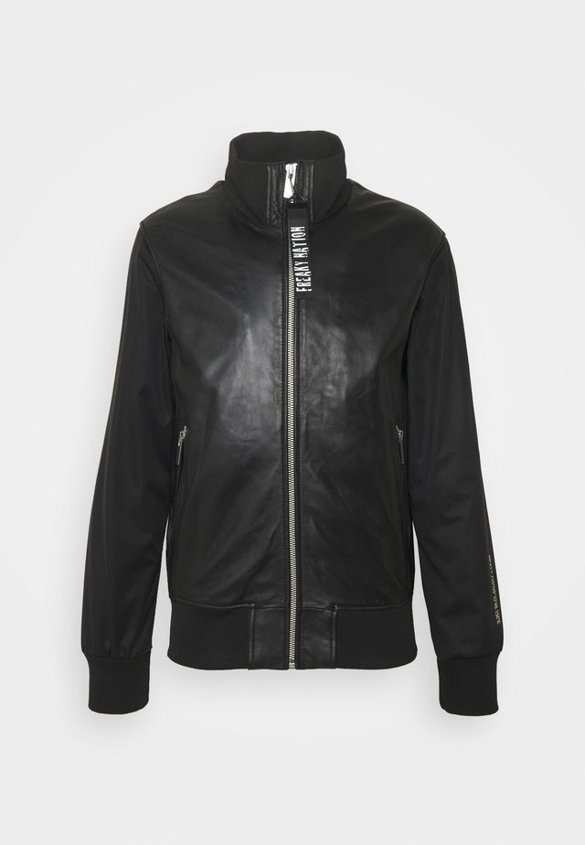 BILLY BOY  - Veste en cuir - black