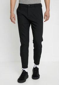 Gabba - PISA Small Dot - Trousers - black - 0