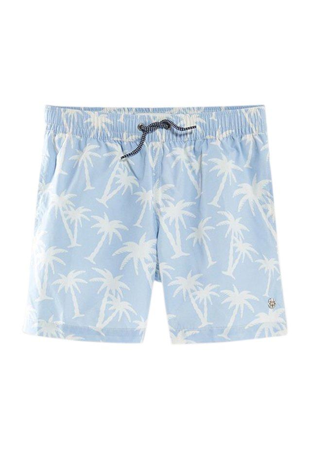 MIT PALMEN - Shorts - light blue