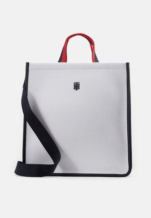 BINDING TOTE - Handbag - white