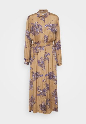 KAINGALIN SHIRT DRESS - Shirt dress - brown