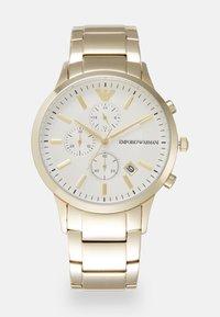 Emporio Armani - RENATO - Cronografo - gold-coloured - 0