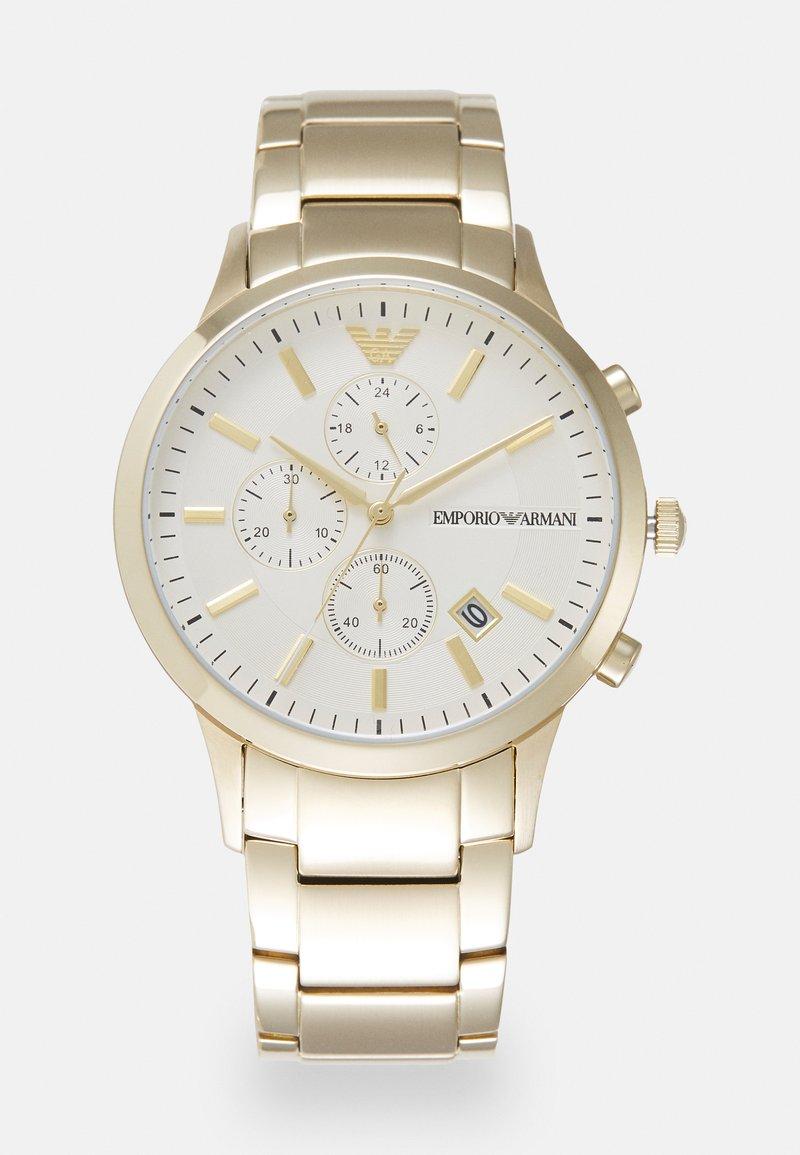 Emporio Armani - RENATO - Cronografo - gold-coloured
