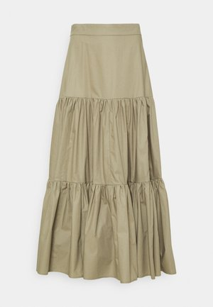 GEORGINA LEAF - A-line skirt - sage green