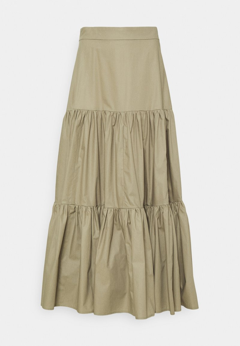 IVY & OAK - GEORGINA LEAF - A-line skirt - sage green