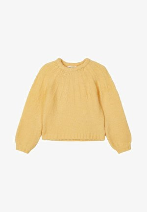 NKFRINJA  - Strickpullover - Golden Haze