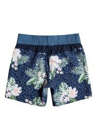Roxy - LOVELY SUN 5 - Swimming shorts - mood indigo animalia s - 1
