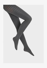 Wolford - KARTER  - Tights - slate/black - 2