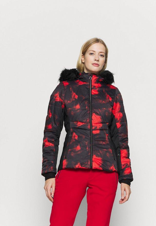 AURORAL JACKET - Skijakke - seville red