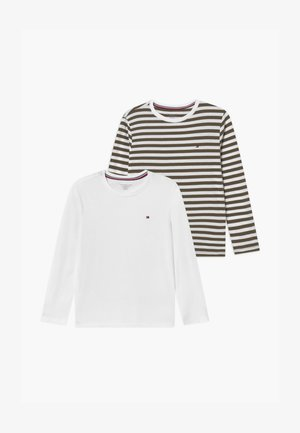 STRIPE TEE 2 PACK - Camiseta de pijama - green