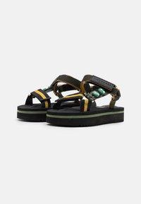 Kurt Geiger London - OLIVIA - Platform sandals - khaki - 2