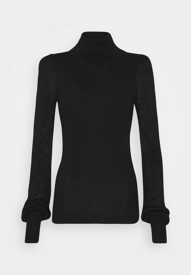 LAUREL - Strikpullover /Striktrøjer - black