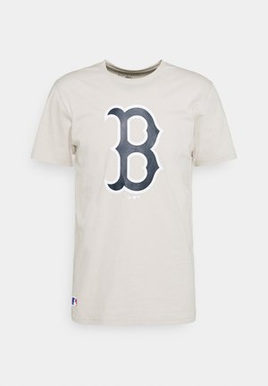 BOSTON RED SOX SEASONAL TEAM LOGO TEE - Club wear - beige