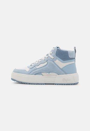 VEGAN - Sneakers hoog - pastel blue