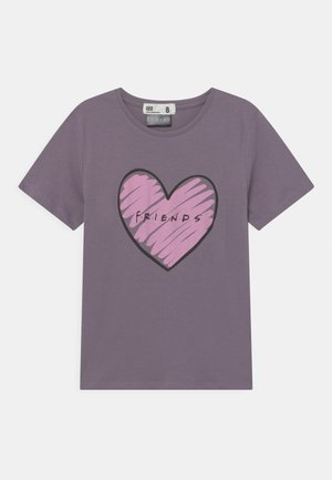 LICENSE SHORT SLEEVE - Triko s potiskem - purple