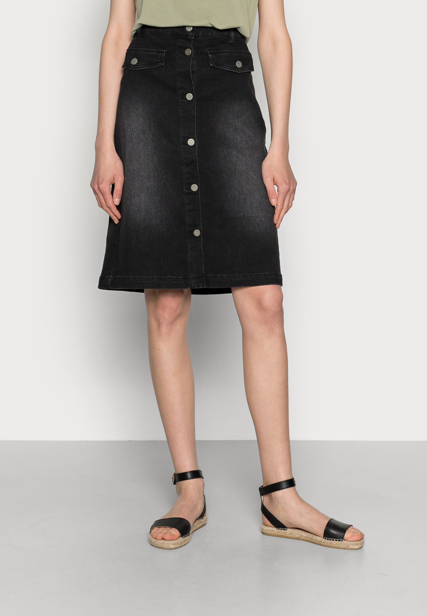 Femme ANINA SKIRT - Jupe en jean