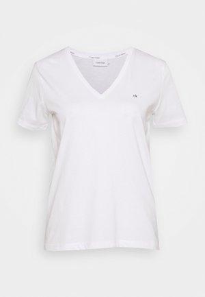 SMALL V NECK  - T-shirt basic - white