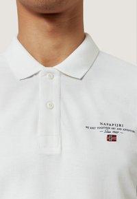 Napapijri - ELBAS - Poloshirt - white - 3