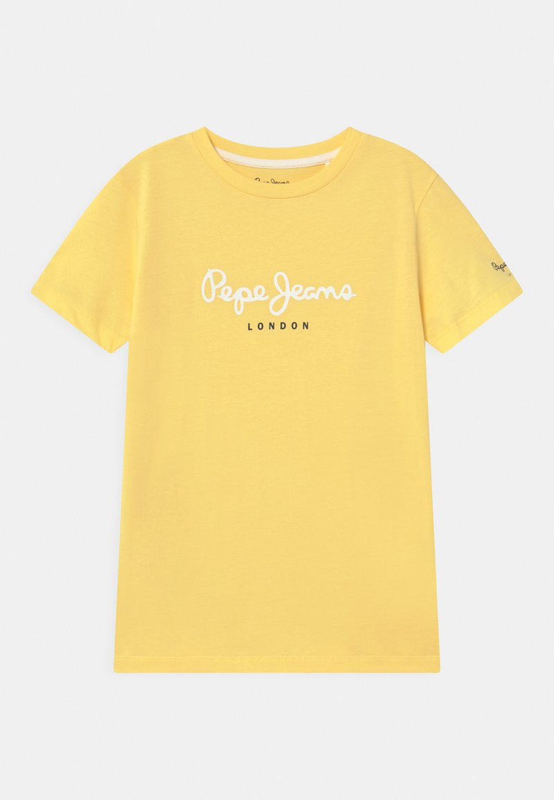 Pepe Jeans - ART - T-shirt con stampa - yellow