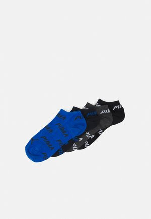 SNEAKER 4 PACK UNISEX - Trainer socks - black/white