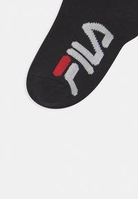 Fila - JUNIOR INVISIBLE 6 PACK UNISEX - Ponožky - black - 2
