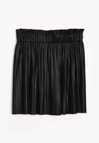 Pimkie - PLISSEE - Mini skirt - schwarz - 3