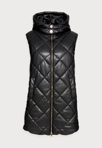 Liu Jo Jeans - GILET NAVETTA - Waistcoat - black - 3