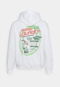 Vintage Supply - MONEY LAUNDRY HOODIE - Sweatshirt - white - 1
