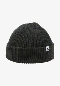 Jack & Jones - JACTWISTED SHORT BEANIE - Beanie - forest night/navy blazer - 4