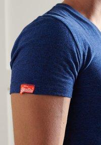Superdry - VINTAGE  - Basic T-shirt - vivid cobalt grit - 2