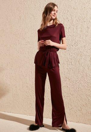 SET - Pyjama - burgundy