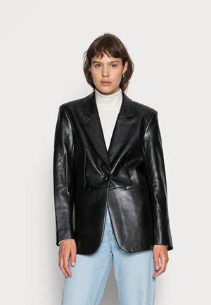 KIARA - Faux leather jacket - black