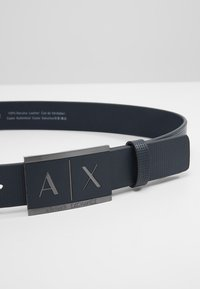 Armani Exchange - BELT - Belt - navy - 3