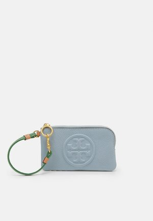 PERRY BOMBE COLOR BLOCK TOP-ZIP CARD CASE - Wallet - icicle