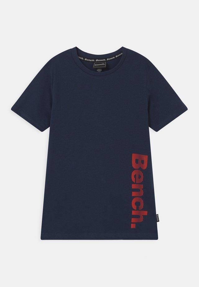 IVAN - T-shirt con stampa - navy