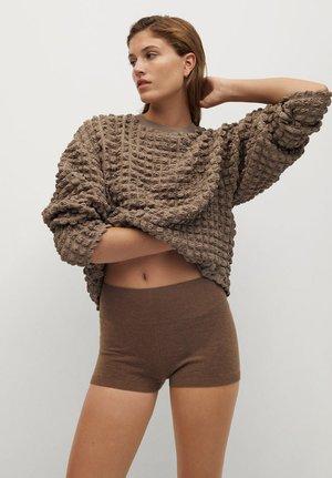 POMPAS - Pullover - mittelbraun