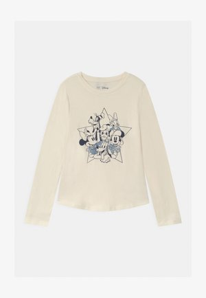 GIRL DISNEY MICKEY MOUSE & FRIENDS - Camiseta de manga larga - ivory frost