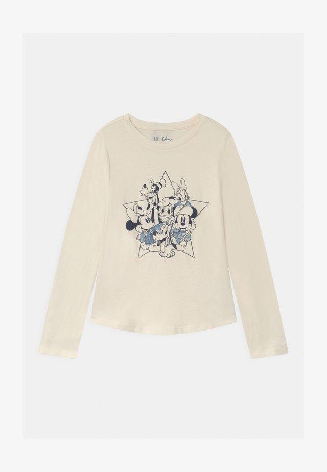 GIRL MICKEY - Langarmshirt - ivory frost